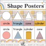 Boho Rainbow - Shape Posters