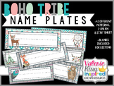 Boho Tribe Collection: NamePlates