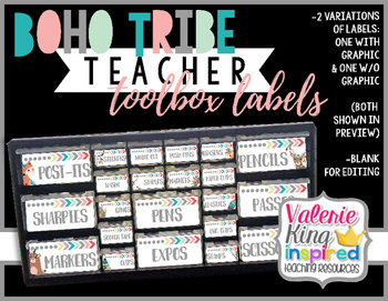 Boho Tribe Collection: Teacher Toolbox