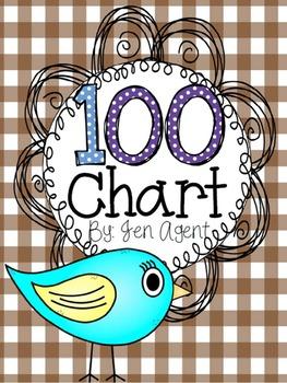 Boho Birds 100 chart