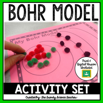 Bohr Model Activity Set