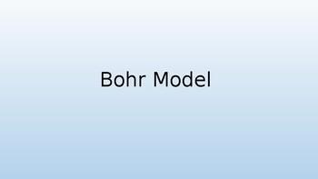 Bohr Model Diagrams (Chemistry PowerPoint)