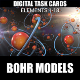 Bohr Model Digital Task Cards | Distance Learning