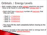 Bohr Model Lesson