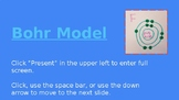Bohr Model Notes and Examples