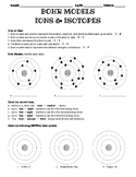 Bohr Model Practice with Cations, Anions, and Isotopes