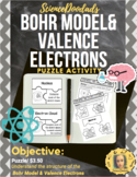Bohr Model & Valence Electrons - Puzzle Game