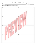 Bohr Model Worksheets (Package of 3) for Physical Science