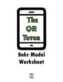 Bohr Model Worksheet