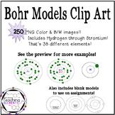 Bohr Models Clip Art