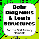 Atomic Structure Bohr Models & Lewis Structures for the First Twenty Elements