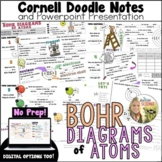 Bohr and Lewis Diagrams Cornell Doodle Notes and Powerpoint