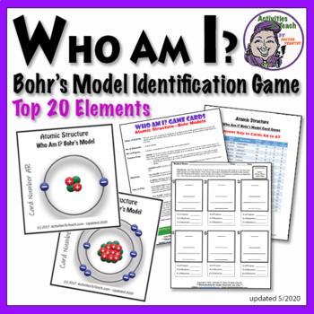 Bohr's Model - Identification Game for Atoms