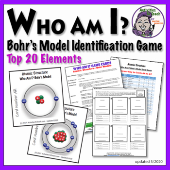 Atomic Structure: Bohr's Model - Identification Game for Atoms