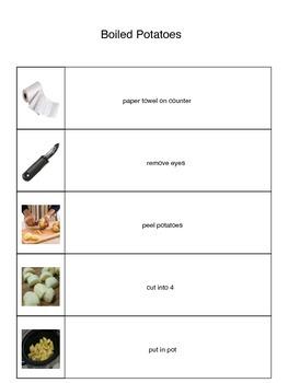 Boiled Potato Visual Recipe