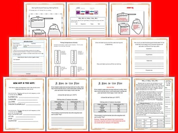 Boiling Points and Freezing/ Melting Points Science and Literacy Lesson Set-