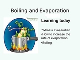Boiling and Evaporation - Presentation