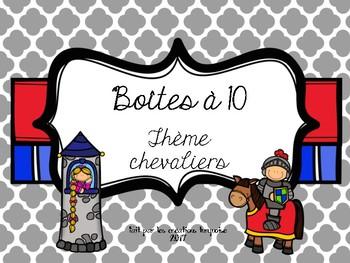 Boîtes à 10 chevaliers