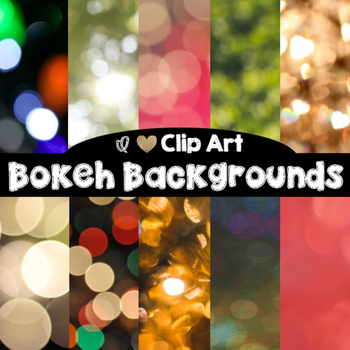Bokeh Backgrounds - Digital Papers