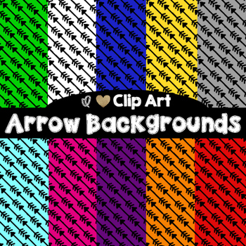 Arrow Backgrounds - Digital Papers