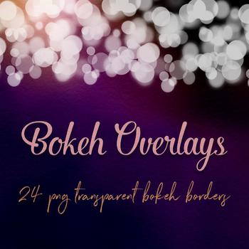 Bokeh Borders Clipart