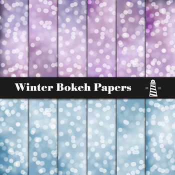 Bokeh Digital Paper, Sparkles Backgrounds, Sparkling Textures