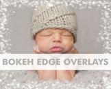Digital Papers - Bokeh Edge Overlays Transparent