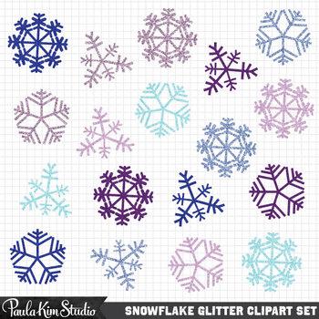 Glitter Snowflake FREEBIE
