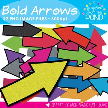 Bold Arrows Clipart