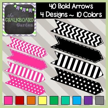 Bold Arrows - Set of 40