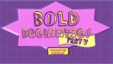 Bold Beginnings Character Portrait Full Version Part 5_Lea