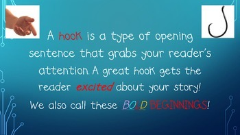 Bold Beginnings Sentences/ HOOKS