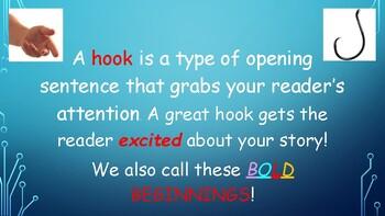 Bold Beginnings Sentences/ HOOKS
