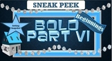 Bold Beginnings SETTING SNAPSHOT-Sneak Peek Part VI