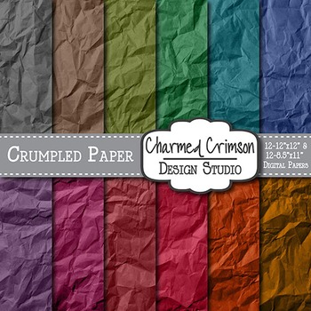 Bold Crumpled Digital Paper 1408