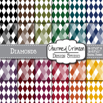 Bold Diamond Digital Paper 1344