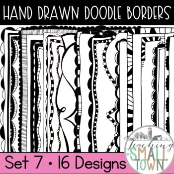 Bold Doodle Frames Bundle [62 Frames for Commercial Use]