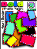 Bold Heart Frame Papers *Bargain Priced* Clipart (Embellish Yourself Artworks)