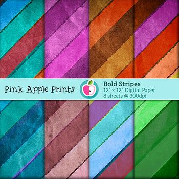 Bold Stripes Texture Set