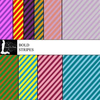 Bold Stripes Digital Paper