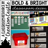 Bold and Bright Classroom Decor Bundle