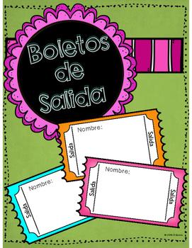 FREE Boletos de Salida - Exit Tickets