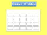 Boletos de Salida en español   Idea Principal   Main Idea in Spanish Exit Ticket