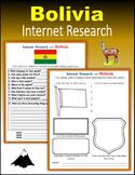 Bolivia (Internet Research) - Print + Digital Activity