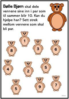 Bølle Bjørn (tall til 10)