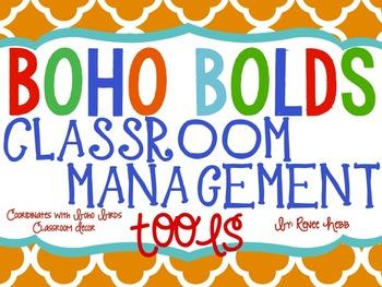 Bolo Bolds Classroom Management Tools