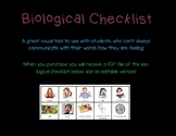 Bological Checklist