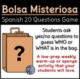 Bolsa Misteriosa - Spanish 20 Questions Game