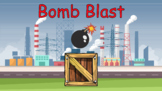 Bomb Blast - Review template - Great for distance learning
