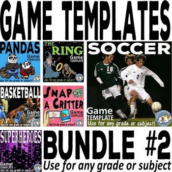 Bomb Games Templates Bundle #2
